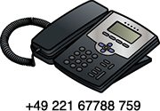 Call us on +49 221 67788 759